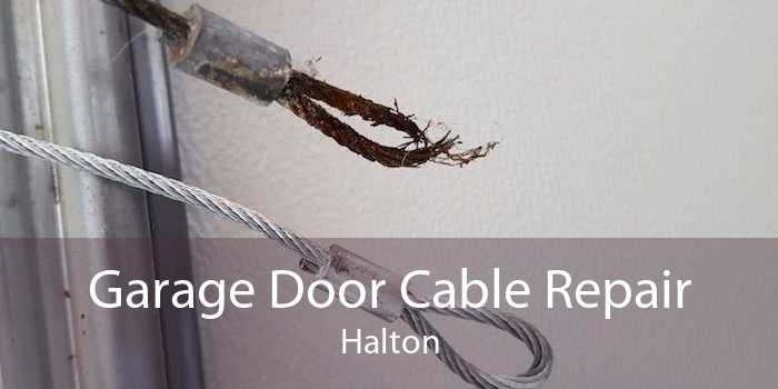 Garage Door Cable Repair Halton