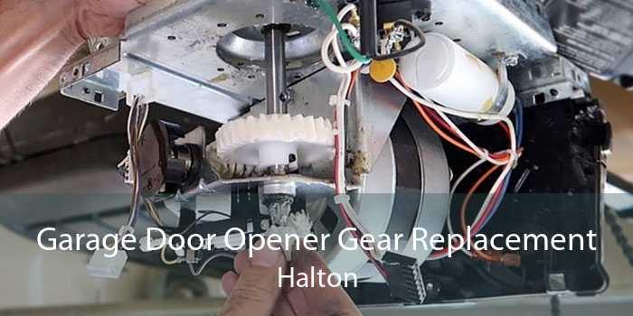 Garage Door Opener Gear Replacement Halton