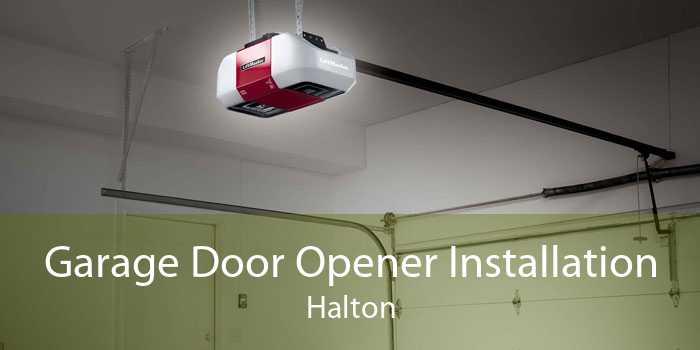 Garage Door Opener Installation Halton