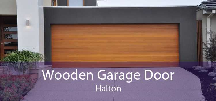 Wooden Garage Door Halton